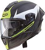 Caberg Drift EVO Carbon Casco para Moto, Hombre, Amarillo, XL