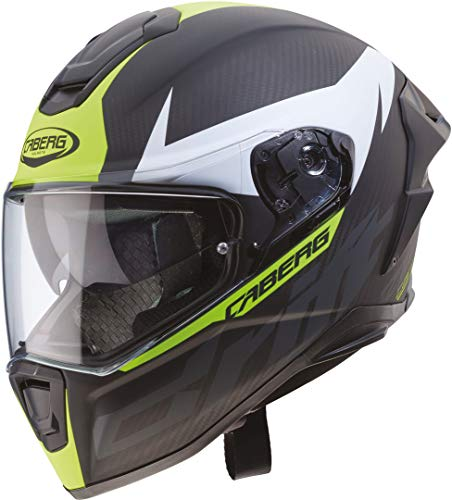 CASCO CABERG DRIFT EVO CARBON MATT ANTHRACITE/YELLOW FLUO M