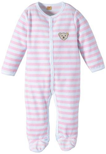 Steiff Steiff Unisex - Baby 1/1 Arm Romper, Rosa (Barely Pink 2560), 86 (12-18m)
