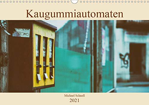 Kaugummiautomaten (Wandkalender 2021 DIN A3 quer)