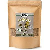 Biojoy Semillas de mostaza orgánicas, semillas enteras - Sinapis alba (1 kg)
