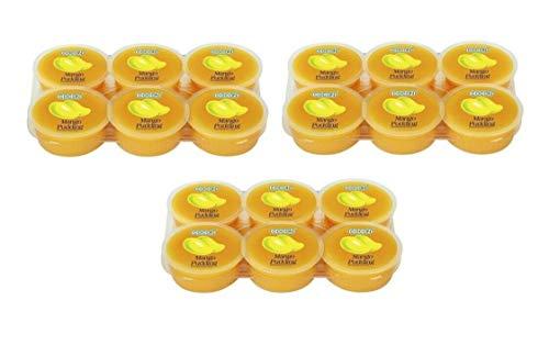 Pamai Pai® Dreierpack: 3 x 480g Mango Dessert Nata de Coco Kokosnuss Gel Mangogeschmack
