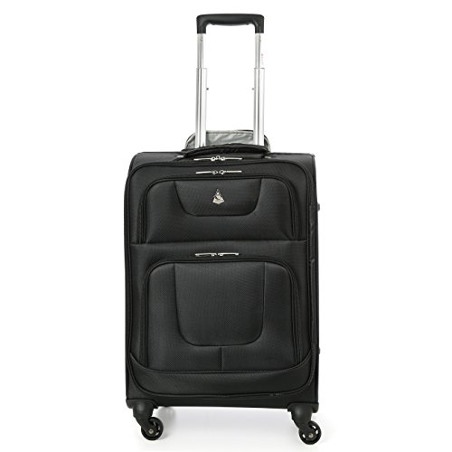 Aerolite 4 Wheel Spinner 24x16x10' incl. Wheels Lightweight Luggage Suitcase -Max Carry On Size for Southwest Airlines