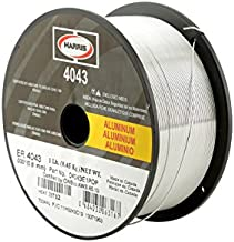 HARRIS 0404321 4043 Aluminum MIG Welding Wire, 3/64