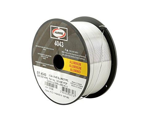 HARRIS 04043F6 4043 Aluminum MIG Welding Wire, 0.035