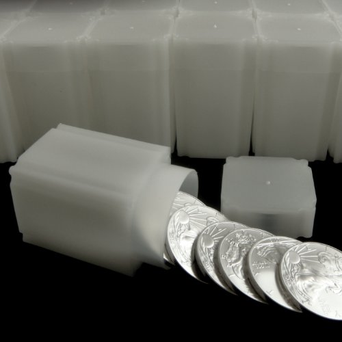 Price comparison product image CoinSafe Square American Silver Eagle Tubes (10 Pack)