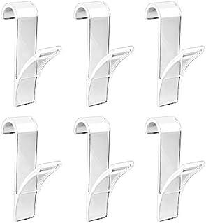 Wenko - Ganchos para radiador toallero (6unidades)