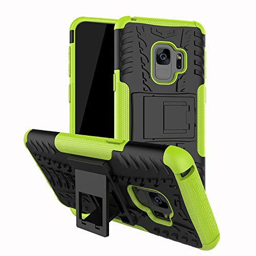 Preisvergleich Produktbild betterfon / Outdoor Handy Tasche Hybrid Case Schutz Hülle Panzer TPU Silikon Hard Cover Bumper für Samsung Galaxy S9 SM-G960 Grün