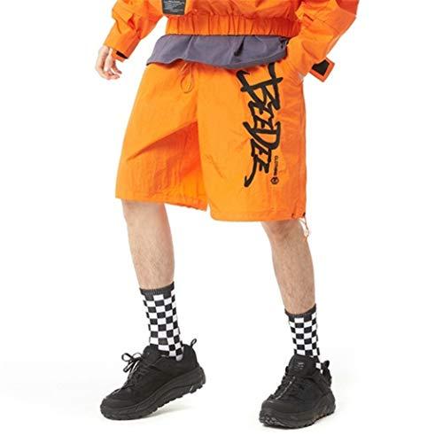 Jugend-Mann-beiläufige Kurzschluss-Süßigkeit-Farben-Stickerei-lose gerade Strand-Sport-Straßen-Hip Hop-Harem-Hosen