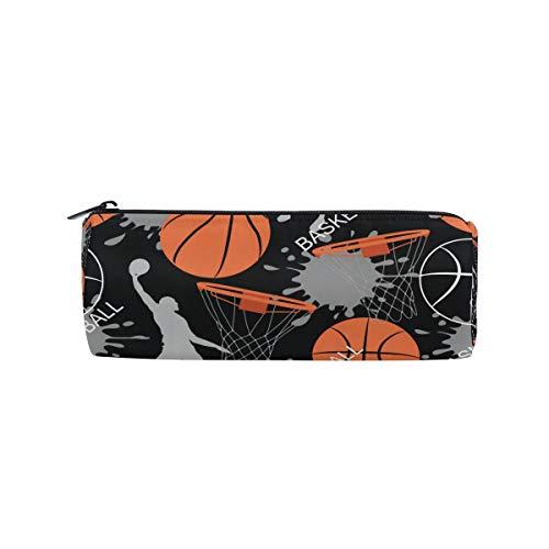 BIGJOKE Federmäppchen Sport Ball Basketball Federtasche Stift Reißverschluss Tasche Organizer Make-up Pinsel Tasche für Mädchen Kinder Schule Student Schreibwaren Büro Supplies