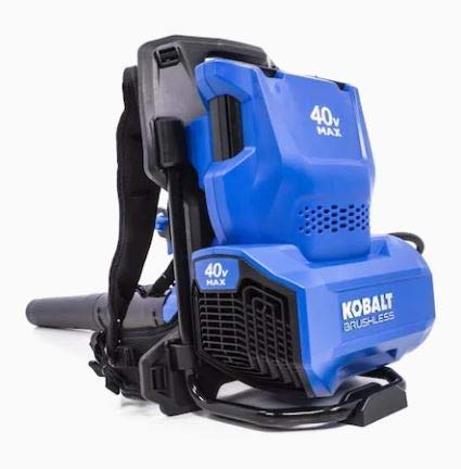 Kobalt Bare Tool 125-MPH 690-CFM 40-Volt Lithium Ion Backpack Cordless Electric Leaf Blower, Battery and Charger Not Included -  Kobalts, KBB 4240-06