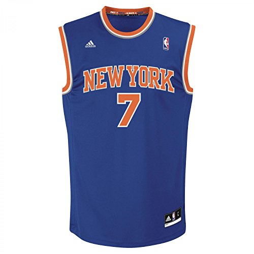 adidas nbayork Anthony Replica Camiseta de Baloncesto NBA New York Knicks, Hombre, Azul, S