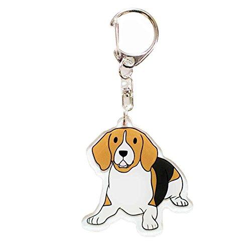 Beagle, Beagle Lover 5,1cm acrilico portachiavi