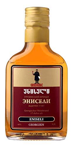 Georgischer Weinbrand ENISELI, 17 Jahre Alt, 40%, 0,2Liter, aus autochthone georgische Rebsorte...