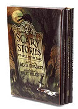 Scary Stories Box Set  Complete Collection with Brett Helquist Art