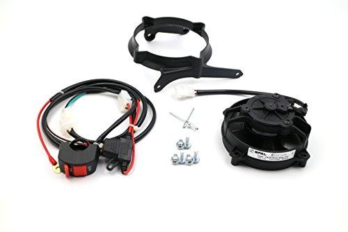 ProRace Ventilador axial, ventilador SPAL original con interruptor para 2 y 4 tiempo