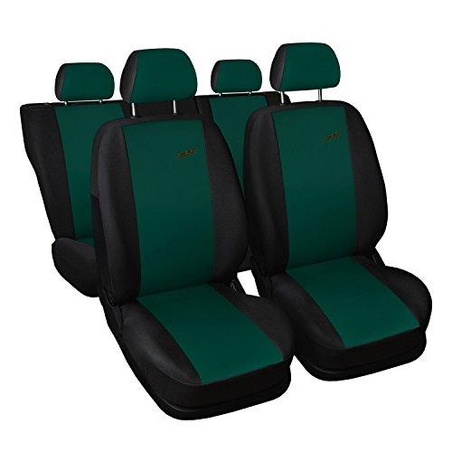 Siège auto universel voiture déjà Housse de protection, 4U, housses pour siège auto Protège XR, Kit complet, Vert