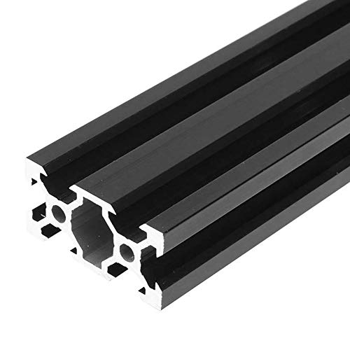 PovKeever 1000mm Black 2040 V-Slot Aluminum Profile Extrusion Frame for CNC Laser Engraving Machine