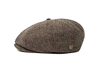 BRIXTON Brood Newsboy Snap Hat Casquette Newsie Homme, Marron/Kaki à Chevrons, L (B003WPEHGI) | Amazon price tracker / tracking, Amazon price history charts, Amazon price watches, Amazon price drop alerts