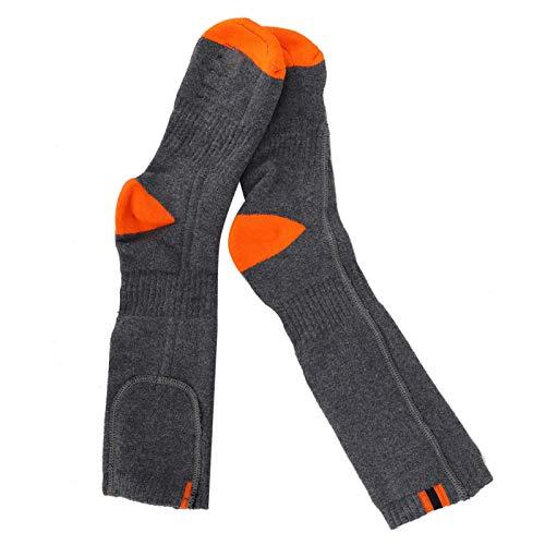 Convenientes calcetines térmicos eléctricos Calcetines de invierno para pies calientes