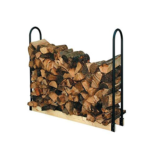 Find Bargain YCRD Fireplace Log Bracket, Adjustable Telescopic Wrought Iron Firewood Frame, Indoor O...