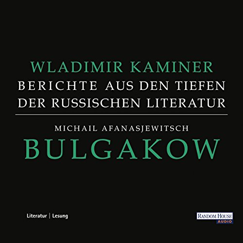 Michail Afanasjewitsch Bulgakow audiobook cover art