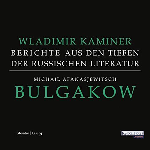 Michail Afanasjewitsch Bulgakow Titelbild
