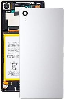 Förnyelse Reparation för skärmskydd IPartsbuy för Sony Xperia Z5 Back batteriladdningstillbehör (Color : White)