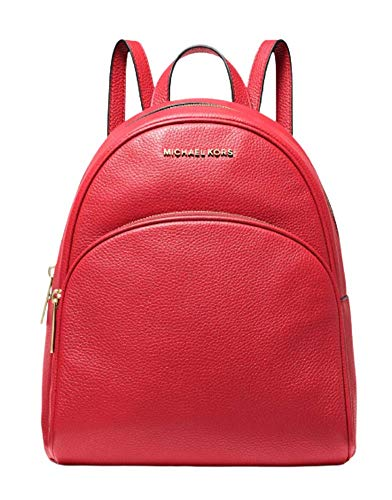 MICHAEL Michael Kors Abbey MD Backpack (Bright Red)