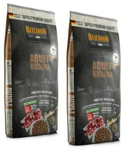 Belcando Adult Iberico & Rice 2 x 12,5 kg für Hunde mit normaler Aktivität