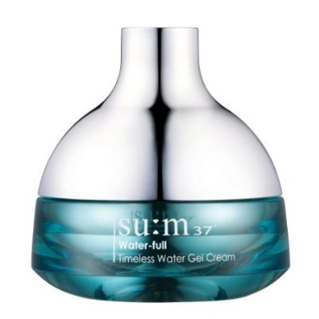 パレード逆に覗くKOREAN COSMETICS, LG Household & Health Care_ SUM37, Water Full Timeless Water Gel Cream 50ml (Moisturizing, refreshing...