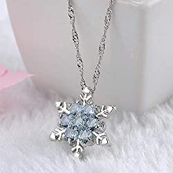 Snowflake Necklace - $2.39 (slow ship)