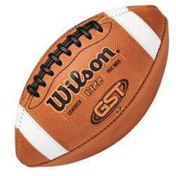 Wilson GST Leather Game Football  Pee Wee