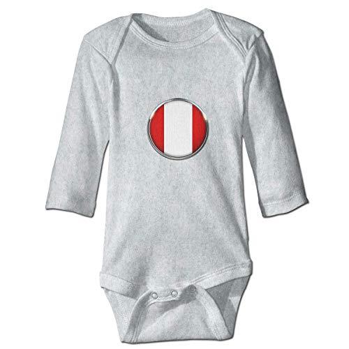 Klotr Mameluco Bebé, Peru Pijama de Algodón Mameluco Niñas Niños Pelele Mono Manga Larga Trajes