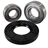 Front Load Bearings Washer Tub Bearing and Seal Kit with Nachi Bearings fits Samsung Tub DC97-17040 (5 year replacement warranty and link to our'How To' videos)