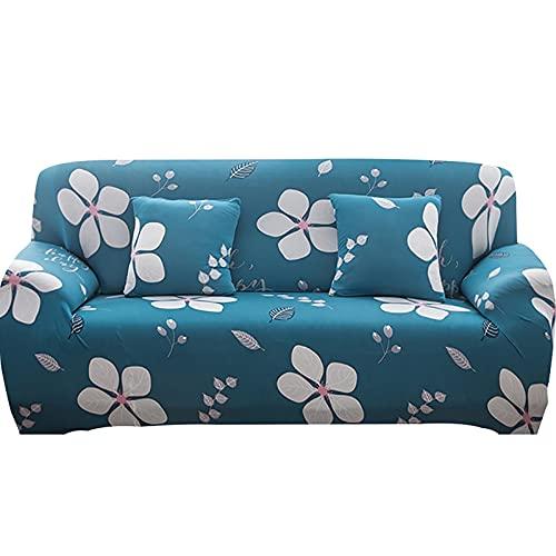 Fundas de sofá Fundas de sofá en Forma de L Fundas de sofá para Sala de Estar Funda de sofá seccional de Licra A10 2 plazas