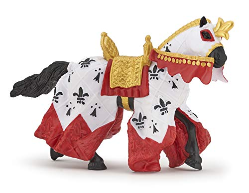 Papo 39951 Welt des MITTELALTERS König Arthurs' Pferd, Mehrfarben