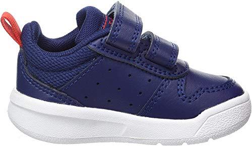 adidas Unisex Baby Tensaur I Sneaker, DKBLUE/FTWWHT/ACTRED, 24 EU