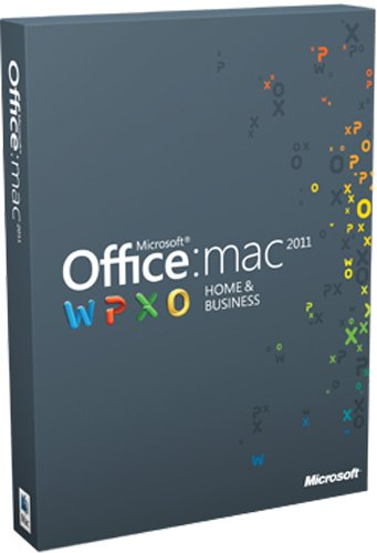 Microsoft Office Mac Home Business Multi Pack 2011 deutsch [import allemand]