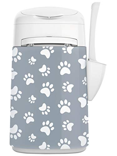 LitterLocker Fashion 10453 Stoff-Bezug Cat Paws Grey