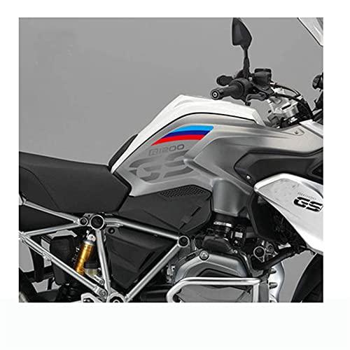 Moto Paraserbatoio Per BMW R1200GS 2013-2017 Tank Pads Adesivi in gomma morbida Adesivi laterali Gas combustibile a gas Grip Decalcomanie R 1200 R1200 GS 13 14 15 16 17 17 (Color : 9 Frosted)