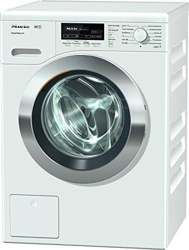 Miele WKF 121 Autonome Charge avant 8kg 1600tr/min A+++-30% Blanc machine à laver - Machines à laver (Autonome, Charge avant, Blanc, boutons, Rotatif, Acier inoxydable, 64 L)