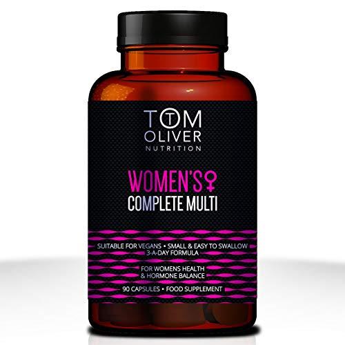 Tom Oliver Nutrition Women's Multi Vitamin (90 Capsules)