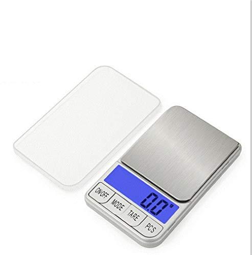 Báscula de joyería de precisión 0.01g 0.1g mini báscula electrónica portátil para té y medicina 300g / 0.01g