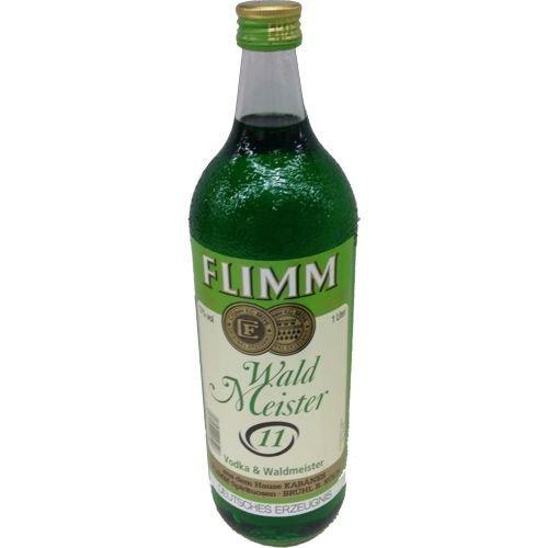 1 Flasche Orginal Flimm Waldmeister a 1,0L Alkoholgehalt 17% - 2