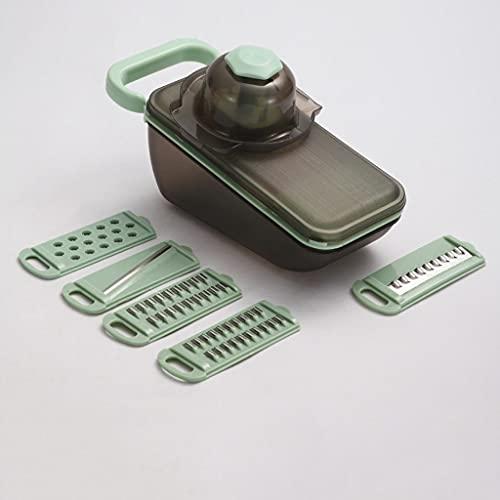 WGGTX Conjunto de Caja de Almuerzo Trituradora de Cocina Multifuncional La trituradora del hogar Rallador de la trituradora de la trituradora del rallador del rallador. Escuela, Empresa
