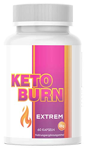 Saint Nutrition® KETO BURN - Extrem schnell - 2 Kapseln für den Tag & Appetitzügler - endlich für Frauen und Männer mit Mariendistel + Cranberry & Lemongras & Stoffwechsel Hergestellt in Deutschland