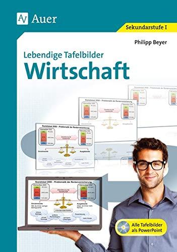 Lebendige Tafelbilder Wirtschaft: Alle Tafelbilder als PowerPoint-Präsentation auf CD-ROM (5. bis 10. Klasse)