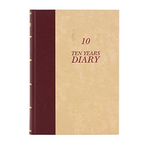 アピカ 日記帳 10年日記 横書き B5 日付け表示あり D313