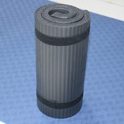 WXL Estera De Yoga 60x25cm Yoga Mat Antideslizante Alfombra de Pilates Gym se Divierte Ejercicio de ratón for Principiantes Ambiental colchonetas for Gimnasia Colchoneta De Ejercicio (Color : Black1)